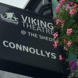"The book ""47 Roses"" by local writer Peter Sheridan performed as a play in The Viking Theatre in Clontarf"